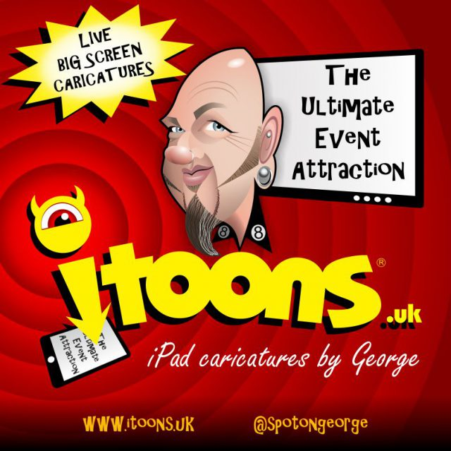itoons IPAD caricatures
